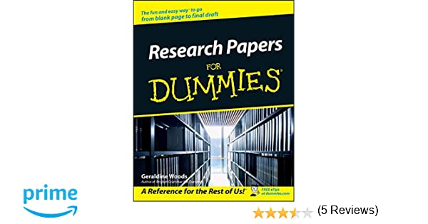 apa style research paper for dummies