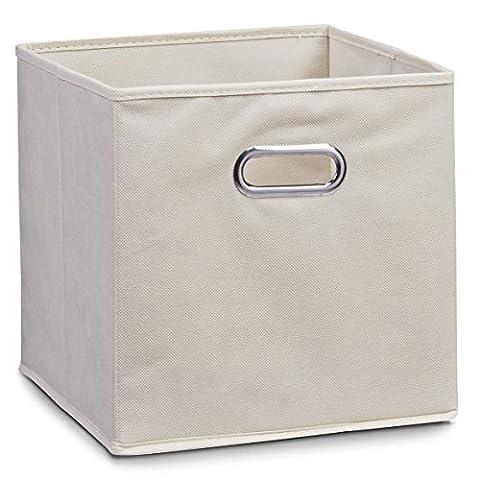 Schrankkorb Regalkorb Stoffbox Vlies in beige 32x32x32cm für IKEA Kallax expedit Dröna und anderen Farben zum auswählen