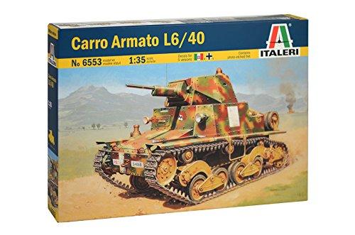 Carro De (Italeri 510006553 1:35 Carro Armato L6/40)