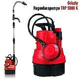 Grizzly Regenfasspumpe TRP 5000 K, Regenpumpe, Bewässerungspumpe, Tauchpumpe mit 350 Watt Motor,...