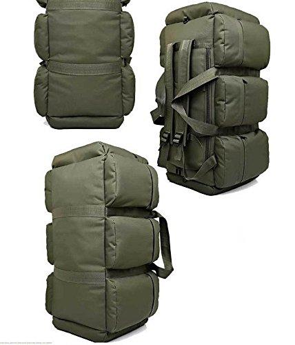 Suben Taschen ungepackt 90L outdoor camping Rucksack Camo Shop-Handtaschen Armeegrün
