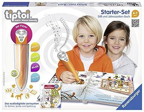 Ravensburger 00506 - tiptoi Starter-Set mit Stift und Buch Wieso?