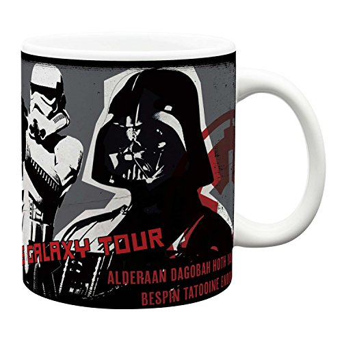 Zak! Designs Jumbo Ceramic Mug with Star Wars Episode 4 Graphics, 24 oz. Capacity by Zak Designs - Jumbo Ceramic Mug