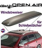 Climair Dach-Windabweiser für Schiebedach 05-5544, Farbausführung: rauchgrau