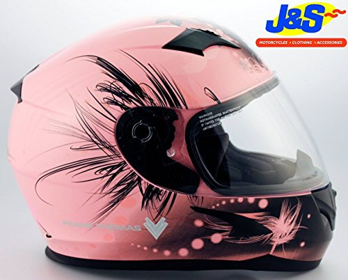 frank-thomas-ft36-ladies-pink-motorcycle-helmet-womens-motorcycle-js-small-s-56-cms