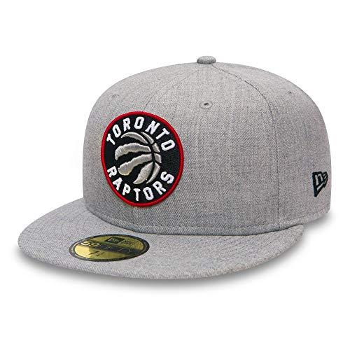 d4d5f5b6c2610 New Era Mujeres Gorras   Gorra plana NBA Toronto Raptors Heather Fitted