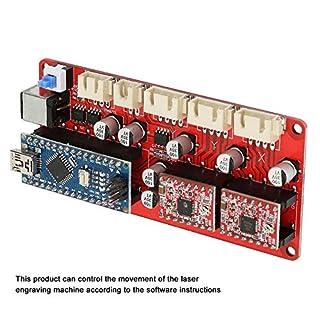 Motherboard Treiber Controller Board Modul für Lasergravurmaschinen mit T-Kabel