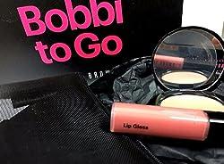 Bobbi Brown - Bobbi to Go - 3piece set- bronzing powder medium+lip gloss+case