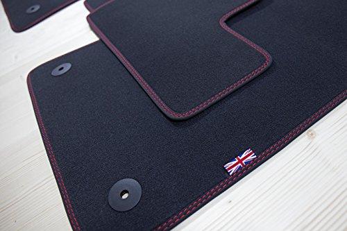 Union Jack design alfombras para Mini II 2 R56 ano 2006-02/2014