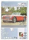 Geburtstagskarte Oldtimer Sportwagen