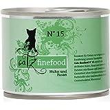 Catz finefood Katzenfutter No.15 Huhn & Fasan 200g, 6er Pack (6 x 200 g)
