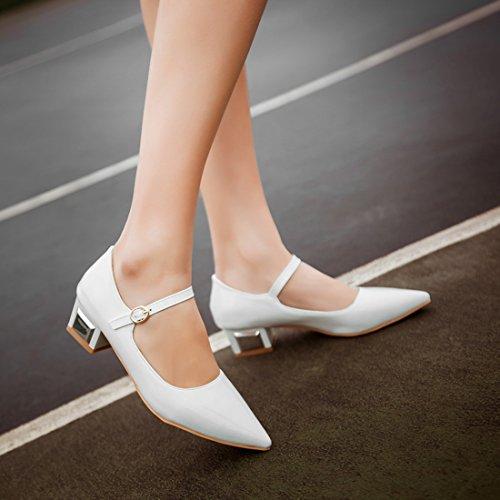 YE , chaussons d'intérieur femme Weiß