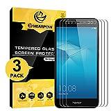NearPow [3 Stück] Huawei Honor 5C Panzerglas Displayschutzfolie, Schutzfolie 9H Härte, Anti-Kratzen, Anti-Öl, Anti-Bläschen, Anti-Fingerabdruck