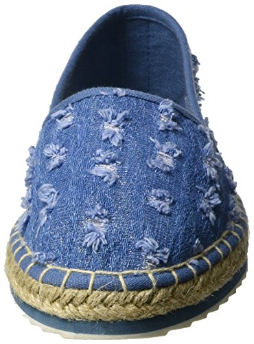 Marco Tozzi 24203, Espadrillas Donna Blu (Jeans Comb 811)