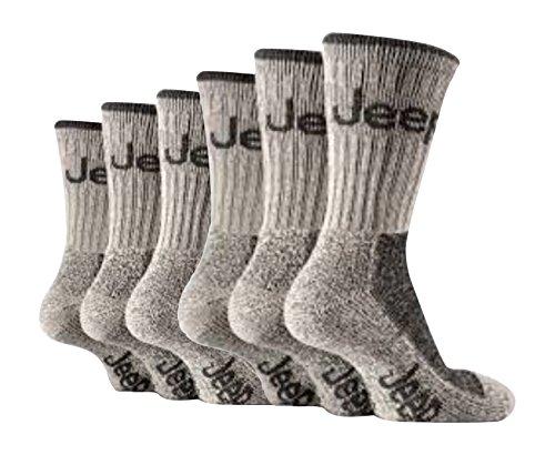 6-paar-herren-jeep-gelande-cushion-sole-wandern-socken-6-11-uk-39-45-eu-stein-beige-herren-6-11-uk-3