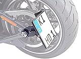 Seitlicher Kennzeichenhalter 180x200 mm für Harley Davidson Softail (bis 2017) Special FLSTFB, FLSTFBS inkl. TÜV-Teilegutachten, LED-Kennzeichenbeleuchtung und Montagematerial.