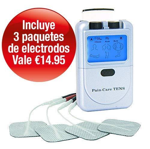 Aparato Electroestimulador TENS Med-Fit Pain Care-2 Canales 9 Programas-Uso Sencillo-Alivio Del Dolor y Masaje -paso a paso para el usuario en Español