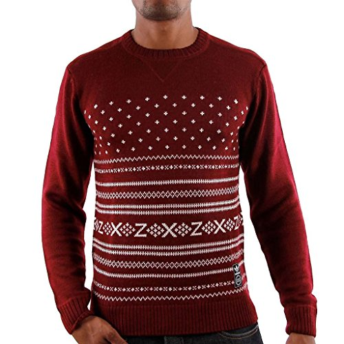 Adidas Knit Sweater L cardinal