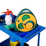 Werkstattwagen Werkzeugwagen Rollwagen 2 Etagen Montagewagen Werkstatt Blau -
