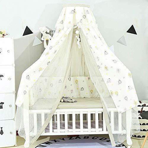 WZABC Hängendes Moskitonetz for Babybett Kinder Twin Full Queen Size Bett Lace Dome Fairy Netting Vorhänge Kinder Spielen Zelt Reading Nook Castle Games House (Color : B)