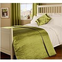 Appassionato di seta cuscino in verde muschio