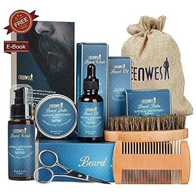 Ceenwes Bartpflegeset 9-teilig für
