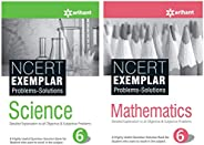 NCERT Exemplar Problems-Solutions for Science / Mathematics  class 6 (Set of 2 books)