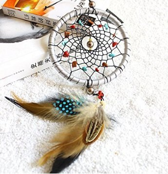 Beautylife Dream Catcher Car Home Decor Feder handgefertigte American Indian Traumfänger (Catcher Dream Home Decor)