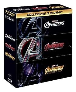 Avengers Trilogia (3 Blu-Ray)