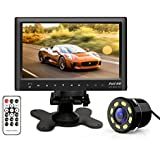 "WOODMAN WM_DASH Bluetooth 7"" Car Rear View Monitor Slim Dashboard Screen, Car Video Audio FM Transmitter / MP5 / USB / Micro SD Card Slot With Rear View Camera/ Car Video Monitor/ Care Rear View screen/ Car screen/ Car Monitor/"