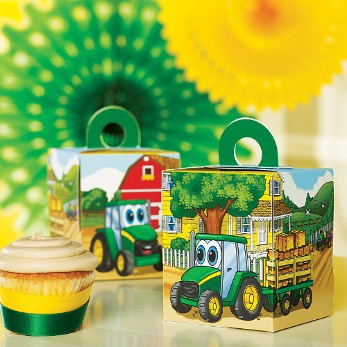 birthdayexpress Johnny Traktor Cupcake Boxes (4)