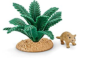 Schleich Vida Salvaje 42323 Marrón, Verde Figura de Juguete para niños - Figuras de Juguete para niños (Marrón, Verde, Niño/niña, Animales)