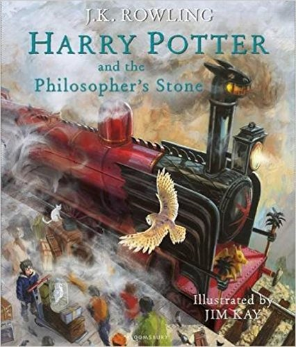 Harry Potter and the Philosopher's Stone: Illustrated Edition (Harry Potter Illustrated Edtn) (Hardcover)