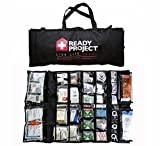 Professional Medical Emergency Kit - All-In-One Life Saving Portable Survival Kit - Emergency Preparedness Essential Package for life by Ready Project