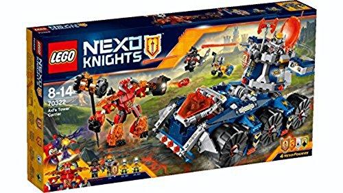 LEGO Nexo Knights Porta Torre di Axl Costruzioni Gioco Bambina Giocattolo, Colore Vari, 70322 1 spesavip