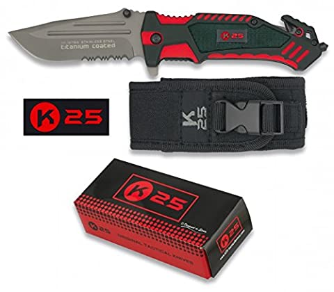 Couteau de poche Sapeurs-Pompiers K25 19764 - RUI - TU