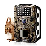 """ENKEEO Cámara de Caza 12MP, 1080P HD Trail Cámara PH700, IP66 Resistente al Agua,IR LED Visión Nocturna, 0.2s de Tiempo de Activación, 2.4"""" LCD Pantalla"""
