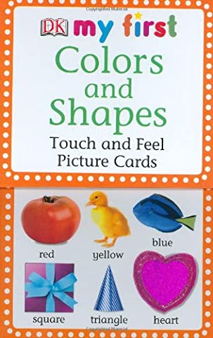 Colors and Shapes: Touch and Feel Picture Cards (DK My