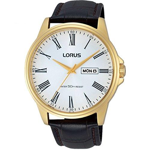 Lorus RXN10DX9 - Reloj para Hombres, Correa de Cuero