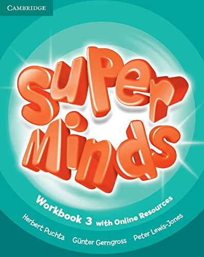 Super Minds Level 3 Workbook with Online Resources - 9781107482999