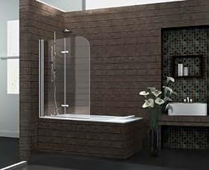 Duschtrennwand brease 120 x 140 badewanne - Badewanne mit glaswand ...