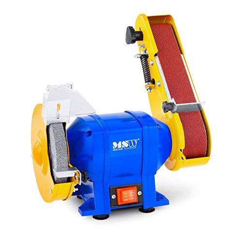 MSW Amoladora lijadora de banda GRIN250D 250 W