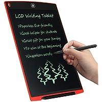 LCD Writing Tablet 12 Zoll CHAOCHI Schreibplatte Digital Schreibtafel Papierlos Grafiktablet Schreiben Tabletten für Kinder Schule Graffiti Malen Notizen EIN Guter Helfer in Arbeit Familie (Rot)