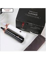 Nettoayeur et séchoir éléctrique de brosses de maquillage, l'hygiène parfaite de tous types de vos pinceaux de maquillage en 10 secondes. (noir)