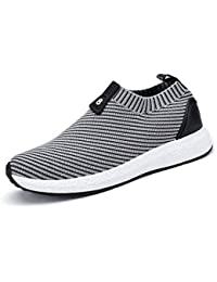 LuckyGirls Mixte Homme Chaussures de Multisports Outdoor,Chaussures de Course Sports Fitness Gym athlétique Baskets Sneakers