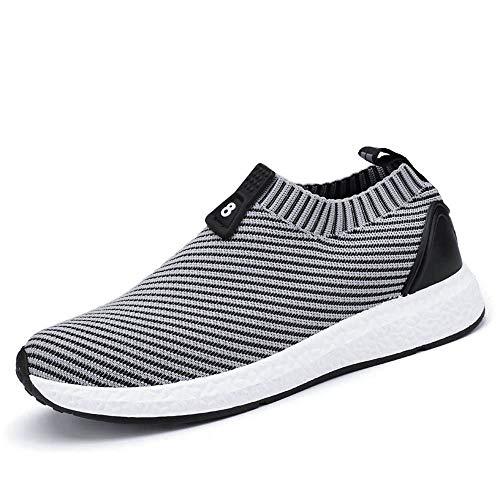 Freizeitschuhe für Herren,Dasongff Ultraleicht Laufschuhe Sportschuhe Atmungsaktiv Gym Turnschuhe Leichtgewicht Lace up Trainer Outdoor Sneaker Shoes