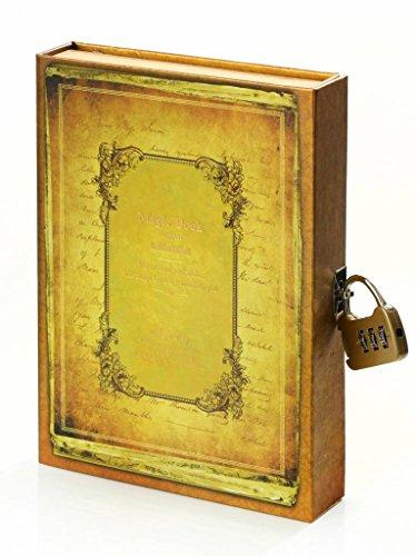 D1321Kalpa Dreamnote Notebook Magic Book con serratura 13x 18.5cm Yellow