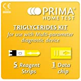 Prima Home Test Multicare-In Triglycerides Strips (Pack of 5)