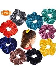 Hair Accessories Hair Bobbles Quality Hair Band Elasticated Multicolour Snag Free School Girls Modern And Elegant In Fashion