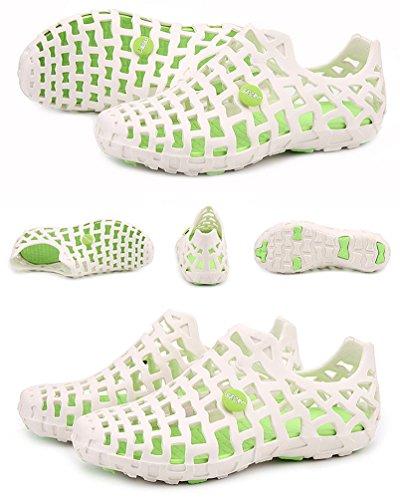 Sentao Unisex Outdoor Respirant Sabots Chaussures de Jardin Décontractée Pantoufle Plage Sandales style 2